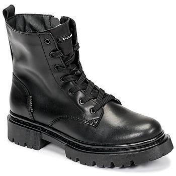 Čevlji  Ženske Polškornji Bullboxer 610504E6L_BKC Črna