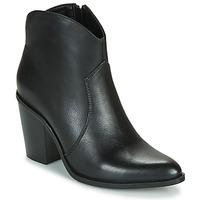 Čevlji  Ženske Gležnjarji MTNG 50187-C50074 Črna
