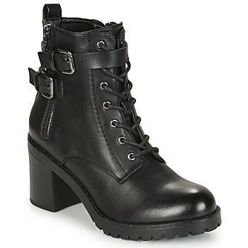 Čevlji  Ženske Gležnjarji MTNG 58674-C50055 Črna
