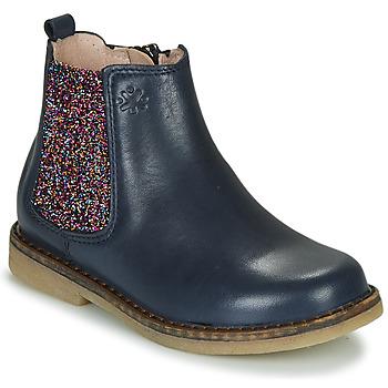 Čevlji  Deklice Polškornji Acebo's 5274-MARINO-J Modra