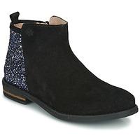 Čevlji  Deklice Polškornji Acebo's 8035-NEGRO-J Črna