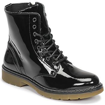 Čevlji  Deklice Polškornji Bullboxer AOL501E6LGBKPT Črna