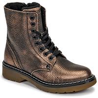 Čevlji  Deklice Polškornji Bullboxer AOL501E6LGCHAM Bronze