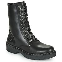 Čevlji  Deklice Polškornji Bullboxer AON523E6L-BKGY Črna