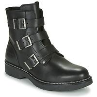 Čevlji  Deklice Polškornji Bullboxer AOL520E6L-BLCK Črna