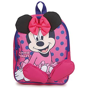 Torbice Deklice Nahrbtniki Disney BACKPACK MINNIE Rožnata