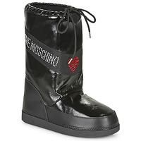 Čevlji  Ženske Škornji za sneg Love Moschino JA24022G1B Črna
