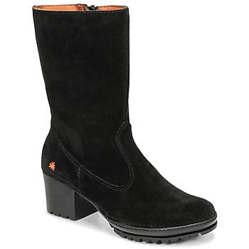 Čevlji  Ženske Mestni škornji    Art CAMDEN Črna