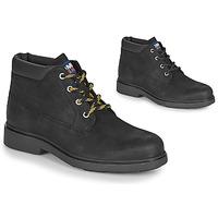 Čevlji  Moški Polškornji Tommy Jeans LOW CUT TOMMY JEANS BOOT Črna