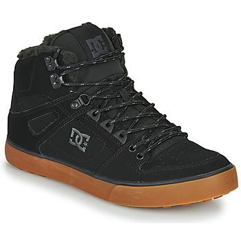 Čevlji  Moški Visoke superge DC Shoes PURE HT WC WNT M Črna