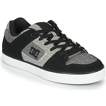 Čevlji  Moški Nizke superge DC Shoes PURE Črna / Siva