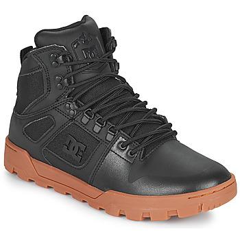 Čevlji  Moški Visoke superge DC Shoes PURE HIGH TOP WR BOOT Črna