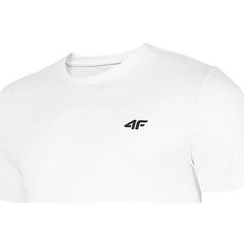 Oblačila Moški Majice s kratkimi rokavi 4F TSM003 Bela