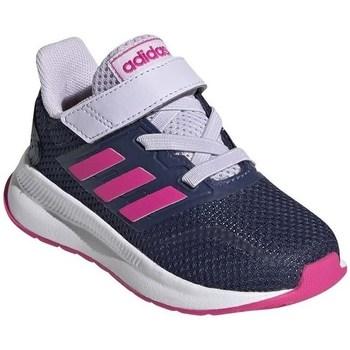 Čevlji  Otroci Tek & Trail adidas Originals Runfalcon I Bela,Mornarsko modra