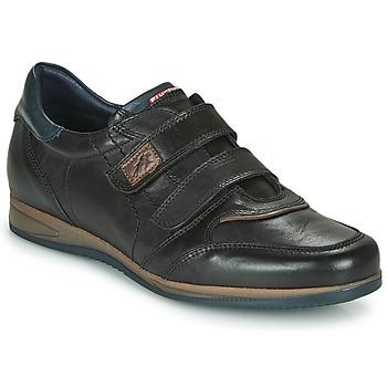 Čevlji  Moški Nizke superge Fluchos DANIEL Črna