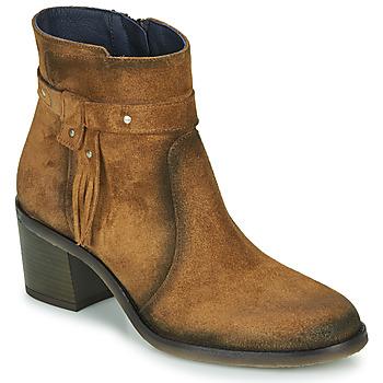 Čevlji  Ženske Gležnjarji Dorking AMBRA Kostanjeva