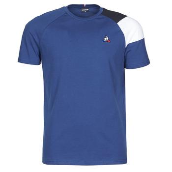 Oblačila Moški Majice s kratkimi rokavi Le Coq Sportif ESS TEE SS N°10 M Modra