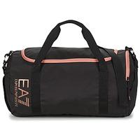 Torbice Ženske Športne torbe Emporio Armani EA7 TRAIN CORE U GYM BAG SMALL Črna / Rožnata