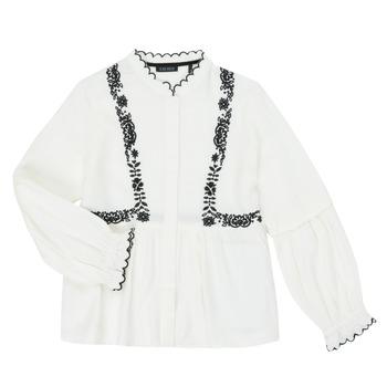 Oblačila Deklice Srajce & Bluze Ikks XR12022 Bela