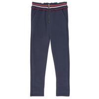 Oblačila Deklice Hlače s 5 žepi Ikks XR23002 Modra