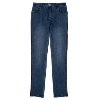 Oblačila Deklice Kavbojke slim Ikks XR29062 Modra