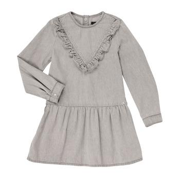 Oblačila Deklice Kratke obleke Ikks XR30022 Siva