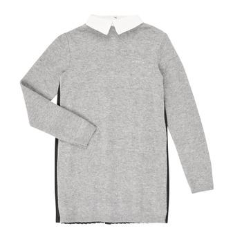 Oblačila Deklice Kratke obleke Ikks XR30082 Siva