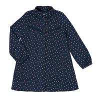 Oblačila Deklice Kratke obleke Ikks XR30152 Modra