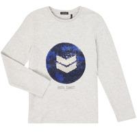 Oblačila Dečki Majice z dolgimi rokavi Ikks XR10273 Siva