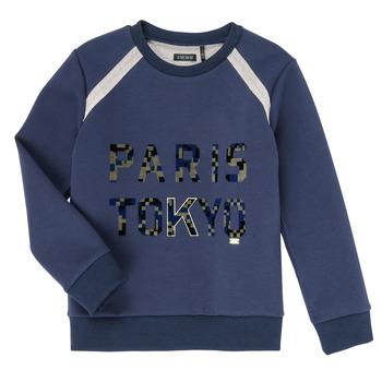Oblačila Dečki Puloverji Ikks XR15093 Modra