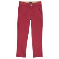 Oblačila Dečki Hlače s 5 žepi Ikks XR22093 Rdeča