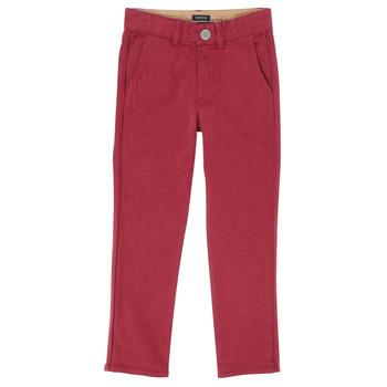 Oblačila Dečki Hlače s 5 žepi Ikks XR22093J Rdeča