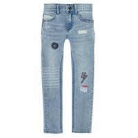 Oblačila Dečki Kavbojke slim Ikks XR29053 Modra