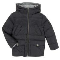Oblačila Dečki Puhovke Ikks XR41053 Črna