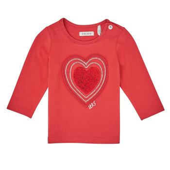 Oblačila Deklice Majice z dolgimi rokavi Ikks XR10010 Oranžna