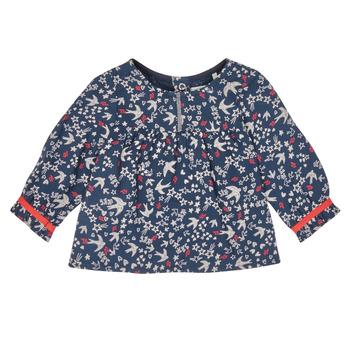 Oblačila Deklice Srajce & Bluze Ikks XR12010 Modra