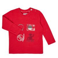 Oblačila Dečki Majice z dolgimi rokavi Ikks XR10011 Rdeča