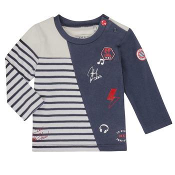 Oblačila Dečki Majice z dolgimi rokavi Ikks XR10041 Bela
