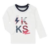 Oblačila Dečki Otroški kompleti Ikks XR36001 Bela