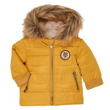 Oblačila Dečki Puhovke Ikks XR41021 Rumena