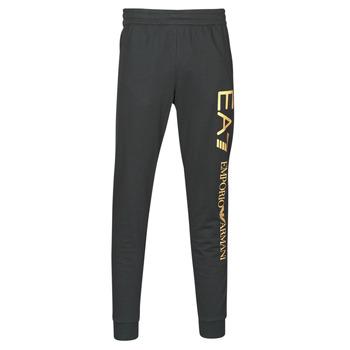 Oblačila Moški Spodnji deli trenirke  Emporio Armani EA7 TRAIN LOGO SERIES M PANTS Črna