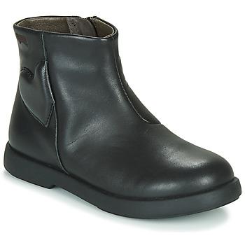 Čevlji  Deklice Polškornji Camper DTT1 Črna