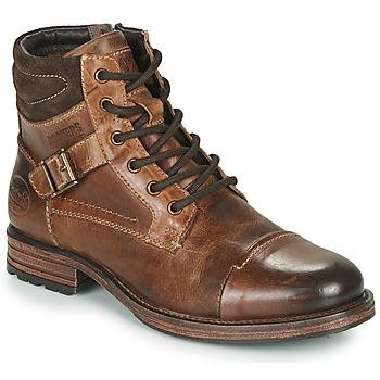 Čevlji  Moški Polškornji Dockers by Gerli 43DY008 Kostanjeva