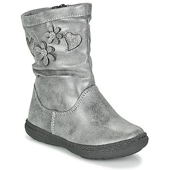 Čevlji  Deklice Mestni škornji    Chicco COLETTA Siva