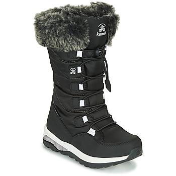 Čevlji  Deklice Škornji za sneg KAMIK PRAIRIE Črna