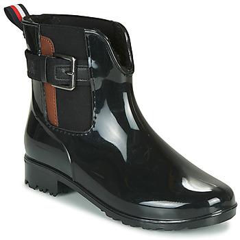 Čevlji  Ženske škornji za dež  Tom Tailor 92306-NOIR Črna