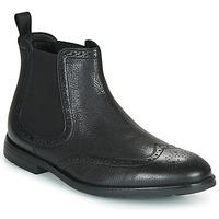 Čevlji  Moški Polškornji Clarks RONNIE TOP Črna
