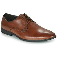 Čevlji  Moški Čevlji Derby Clarks BAMPTON PARK Kamel