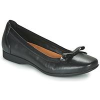 Čevlji  Ženske Salonarji Clarks UN DARCEY BOW Črna