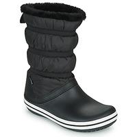 Čevlji  Ženske Škornji za sneg Crocs CROCBAND BOOT W Črna